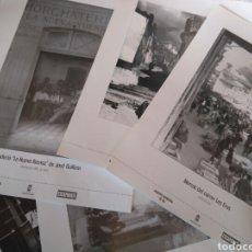 Carteles: COLECCIÓN 26 ANTIGUAS LAMINAS FOTOS DEL ARCHIVO MUNICIPAL DE IBI PUBLICADOS EN PRENSA ESCAPARATE . Lote 85326328