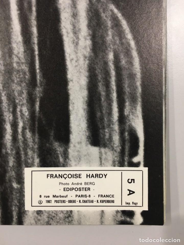 Carteles: Cartel original - FRANÇOIS HARDY - Ediposter - 1967 - 84x59 cm - Foto 2 - 85906868