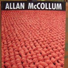 Carteles: CARTEL EXPOSICION ALLAN MC COLLUM, 1990. Lote 87233944