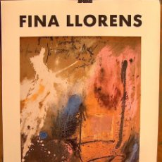 Carteles: CARTEL EXPOSICIO FINA LLORENS, IBERCAJA. Lote 87235332