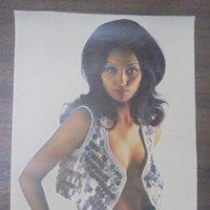Affissi: CARTEL ERÓTICO FEMENINO. 48 X 28 CM. Lote 88090868