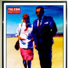 Carteles: CARTEL DE OBRA DE - JOAN A. TOLEDO - EXPOSICION EN IVAN 1998 . TAMAÑO 70 X 50 CMS. Lote 89586748