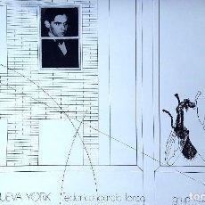 Carteles: LORCA - POETA EN NUEVA YORK - GRUP KADDISH - PRAT DE LLOBREGAT - 1980. Lote 90317004