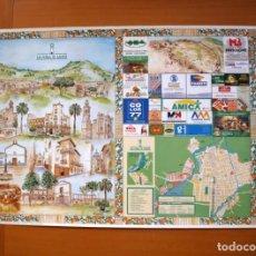 Carteles: VALL DE UXÓ - MONUMENTOS Y LUGARES DE INTERES TURISTICO - CARTEL TAMAÑO 70X100. Lote 91453980