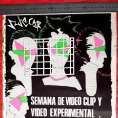 Carteles: VIDEO EXPERIMENTAL - 1980'S - SALA SIDECAR . Lote 91633985