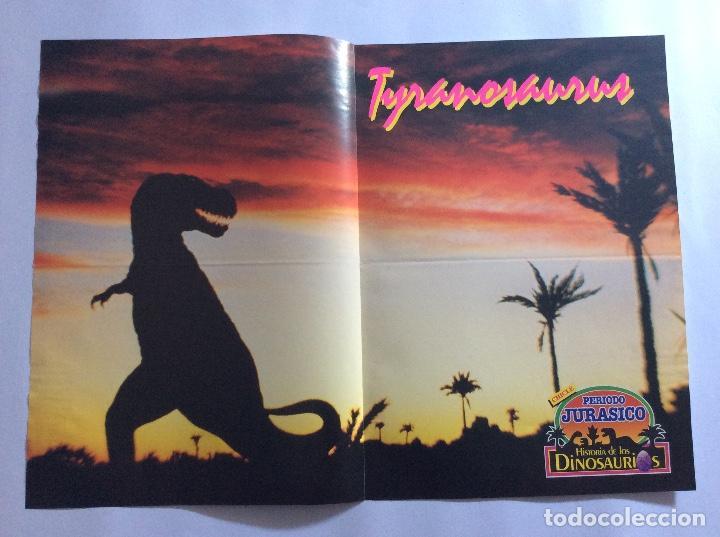 Carteles: PÓSTERS CHICLE PERIODO JURÁSICO HISTORIA DE LOS DINOSAURIOS - Foto 3 - 95034455