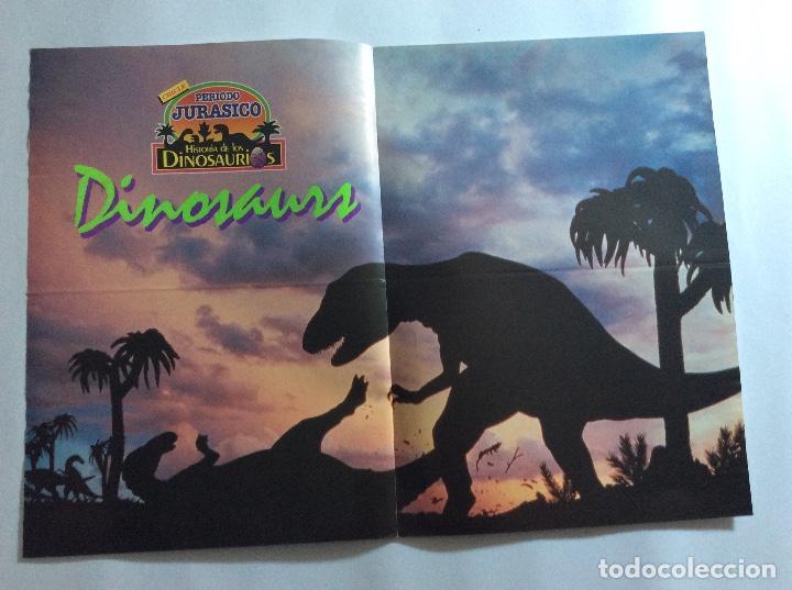 Carteles: PÓSTERS CHICLE PERIODO JURÁSICO HISTORIA DE LOS DINOSAURIOS - Foto 4 - 95034455