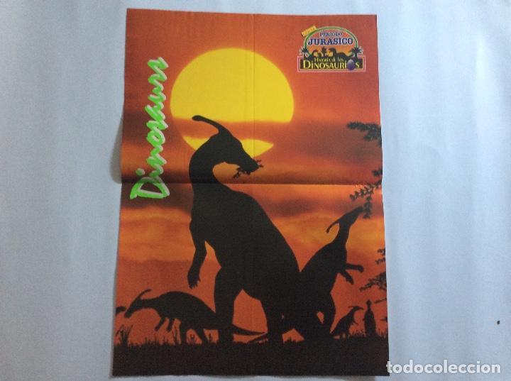 Carteles: PÓSTERS CHICLE PERIODO JURÁSICO HISTORIA DE LOS DINOSAURIOS - Foto 6 - 95034455