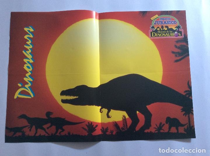 Carteles: PÓSTERS CHICLE PERIODO JURÁSICO HISTORIA DE LOS DINOSAURIOS - Foto 8 - 95034455