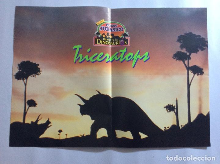 Carteles: PÓSTERS CHICLE PERIODO JURÁSICO HISTORIA DE LOS DINOSAURIOS - Foto 9 - 95034455