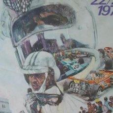 Carteles: CARTEL 40X60 CM GRAN PRIX MÓNACO 1971 EDICIÓN J. RAMEL - NICE. Lote 95905431