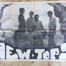 Carteles: CARTEL DEL GRUPO MUSICAL NEW-TOPS. 1969. Lote 97511451