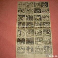 Carteles: L' AUCA DEL SENYOR ESTEVE. 1946 . DIBUIXOS DE RAMON CASAS . NOVELA DE ROSIÑOL ED. SURCO. Lote 97715555