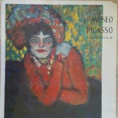 Carteles: L'ATTENTE CARTEL ORIGINAL MUSEO PICASSO. PALACIO AGUILAR. SALA GASPAR 1966. Lote 97829884