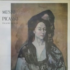 Carteles: MADAME CANALS. CARTEL ORIGINAL MUSEO PICASSO PALACIO AGUILAR 1966. Lote 97841175