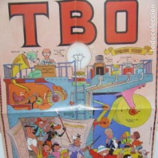 Affissi: CARTEL PUBLICIDAD TBO MEDIDAS 37,5XR3 EDICIONES B. Lote 97934123