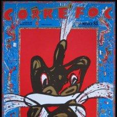Carteles: MARISCAL. CARTEL CORREFOC. BARCELONA 1983. Lote 173514757