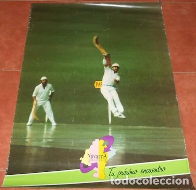 CARTEL PARTIDO DE PELOTA DE NAVARRA, 1988 (Coleccionismo - Carteles Gran Formato - Carteles Varios)