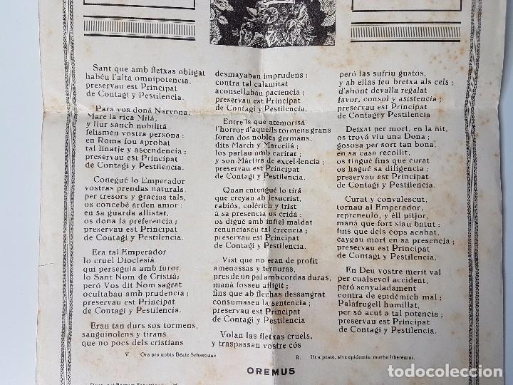Carteles: COPLAS DEL BENAVENTURAT CAVALLER Y MÁRTIR SANT SEBASTIÁ ( PALAFRUGELL ) - Foto 3 - 99744207