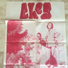 Carteles: CARTEL DEL GRUPO MUSICAL CHES. 1969. Lote 101198268
