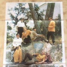Carteles: CARTEL DEL GRUPO MUSICAL LOS INTER'S. 1967. Lote 101200432