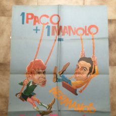 Carteles: CARTEL DEL GRUPO MUSICAL HERMANOS CALATRAVA. 1967. Lote 101212796
