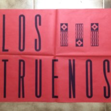 Carteles: CARTEL DEL GRUPO MUSICAL LOS TRUENOS. Lote 101212991