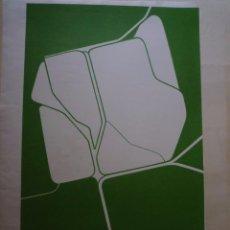 Carteles: PABLO PALAZUELO. CARTEL DE LA EXPOSICIÓN INAUGURAL. GALERIA MAEGHT. 1974. Lote 101713835