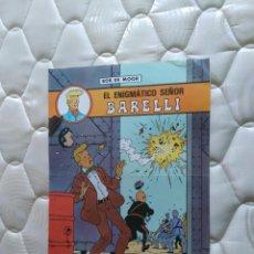Carteles: ANTIGUO PÓSTER EL ENIGMÁTICO SEÑOR BARELLI (EDITORIAL JUVENTUD), BOB DE MOOR. Lote 102429163