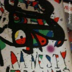 Cartazes: CARTEL MIRO,POR LA AMNISTIA INTERNACIONAL. Lote 102527487