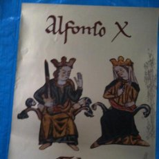 Carteles: CARTEL EXPOSICION ALFONSO X-TOLEDO 1984. Lote 102583131