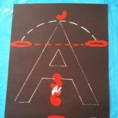 Carteles: CARTEL AMNISTIA DRETD HUMANS I ART 1976. Lote 102584095