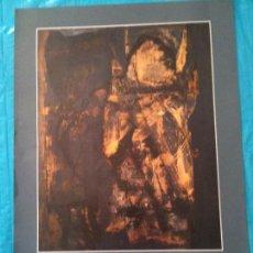 Carteles: CARTEL EXPOSICION,LUCIO MUÑOZ 1988. Lote 102585059