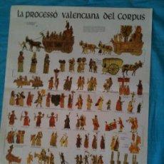 Carteles: CARTEL LA PROCESSO VALENCIANA DEL CORPUS. Lote 102587911