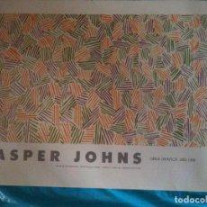 Affiches: CARTEL EXPOSICION,JASPER JOHNS 1060-1985. Lote 102600815