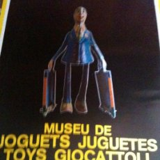 Carteles: CARTEL MUSEO DEL JUGUETE FIGUERES 1982. Lote 102600907