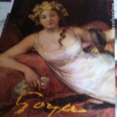 Carteles: CARTEL GOYA MUSEO DEL PRADO 1986. Lote 102601115
