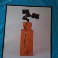 Carteles: CARTEL EXPOSICION.CHILLIDA,MILLARES SAURA TAPIA-1989. Lote 102604783