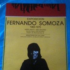 Carteles: CARTEL FERNANDO SOMOZA 1983. Lote 102606175