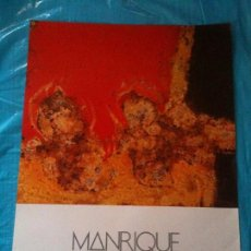 Carteles: CARTEL MANRIQUE 1983. Lote 102606291