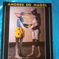 Carteles: CARTEL ANDRES DE NAGEL 1983. Lote 102606411