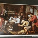 Carteles: ADORACION DE LOS PASTORES.(CARTEL) PINTURA FLAMENCA SIGLO XVII. Lote 102984562