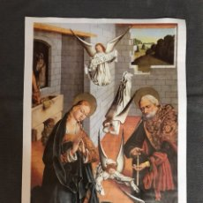 Carteles: PINTURA DE LA NATIVIDAD (CARTEL) SIGLO XV -XVI. Lote 102986096