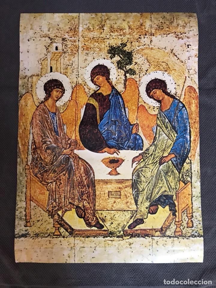 """ANGELES """"ICONOGRAFIA"""" ORTODOXA??? CARTEL (Coleccionismo - Carteles Gran Formato - Carteles Varios)"""