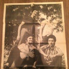 Carteles: CARTEL DEL GRUPO MUSICAL LOS RINGOS. 1972. Lote 103164550