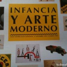 Cartazes: CARTEL INFANCIA Y ARTE MODERNO 1999. Lote 103722046