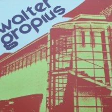 Carteles: NICOLAS GLESS MADRID MARZO DE 1975 EXPOSICIÓN WALTER GROPIUS ARQUITECTO MINISTERIO DE CULTURA. Lote 103709207