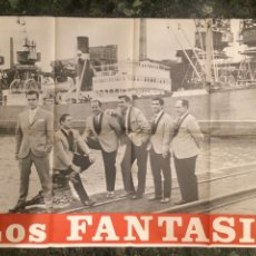 Carteles: CARTEL DEL GRUPO MUSICAL LOS FANTASIO. 1968. Lote 103776454