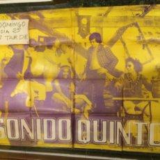 Carteles: CARTEL DEL GRUPO MUSICAL SONIDO QUINTO. 1971. Lote 103778296