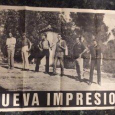 Carteles: CARTEL DEL GRUPO MUSICAL NUEVA IMPRESIÓN . 1970. Lote 103778782